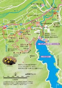 清雲寺・若御子コースマップ
