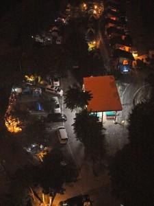 荒川橋より上流側夜の眺め