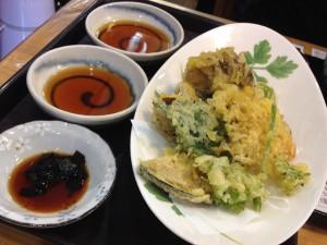 美味しい鈴ひろ庵の天ぷら