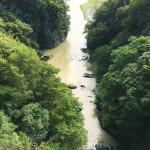 数日後の荒川。濁りはありますが流れは穏やかです