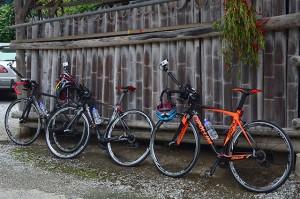 使用していたサイクリング車