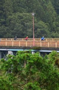 サイクリングしながらの旅。荒川橋通過