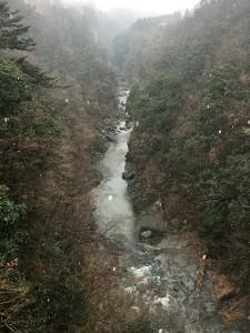 白川橋より大滝方面