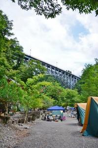 荒川橋上流側キャンプサイト