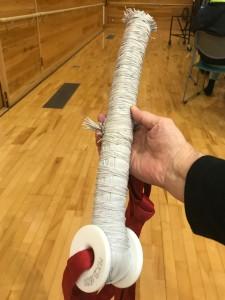 バンジー用のロープ