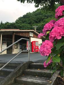 秩父鉄道「武州日野駅」